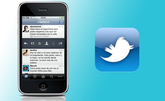 Nuevo Twitter para iPhone 5 en iOS6