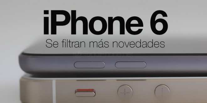 Filtran fotos del IPhone 6